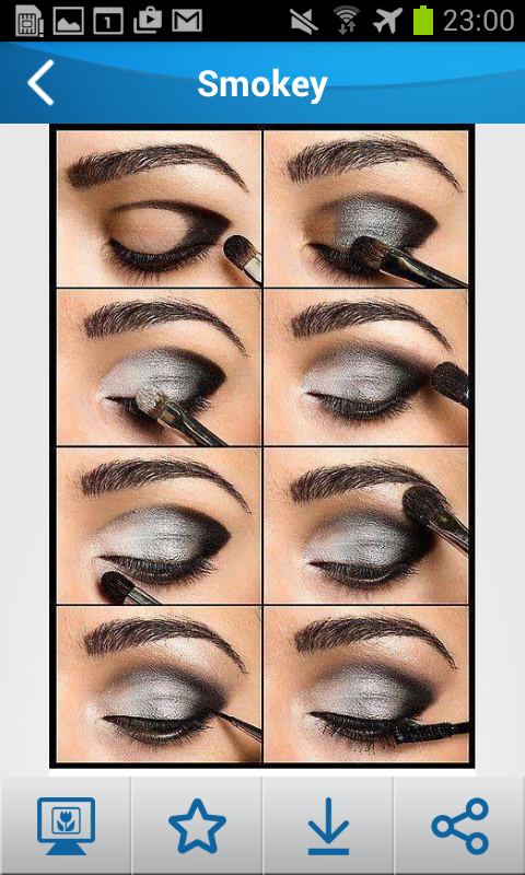 Eye Makeup Step By Step Android Apps On Google Play