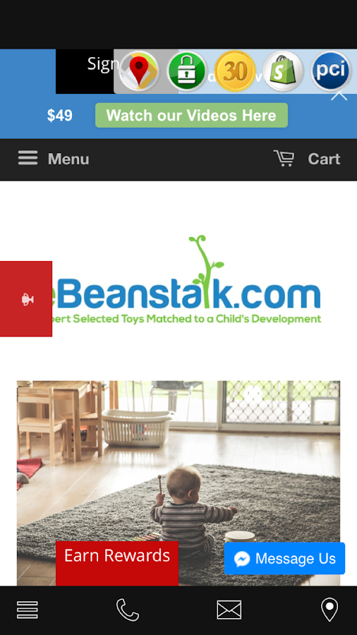 eBeanstalk- screenshot