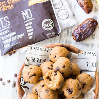 No-Bake Paleo Cookie Dough Bites with Protein.