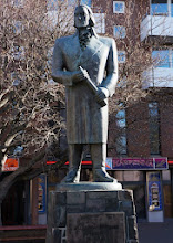 Photo: Statue in Reykjavík of Jón Sigurðsson (June 17, 1811 – December 7, 1879), who was the leader of the 19th century Icelandic independence movement.