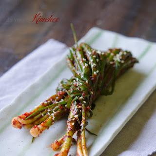Green Onion Kimche (Pa kimchi, 파김치)