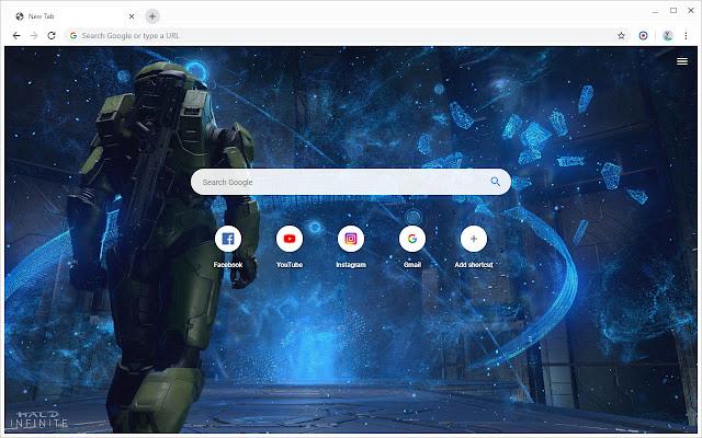 Halo Infinite Wallpapers New Tab