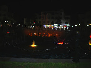 Photo: Тунис 2008, цветомузыкальный фонтан