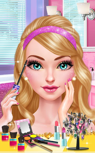 Glam Doll Salon: BFF Mall Date 1.5 screenshots 7