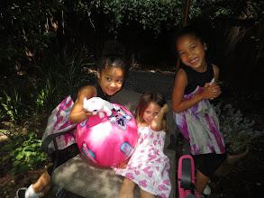 Photo: Dineo, Riley, and Dani.