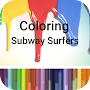 Coloring subway surfers Game APK icon