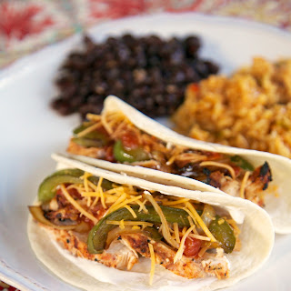 Roasted Salsa Chicken Fajitas