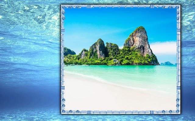 Water Photo Frames - screenshot