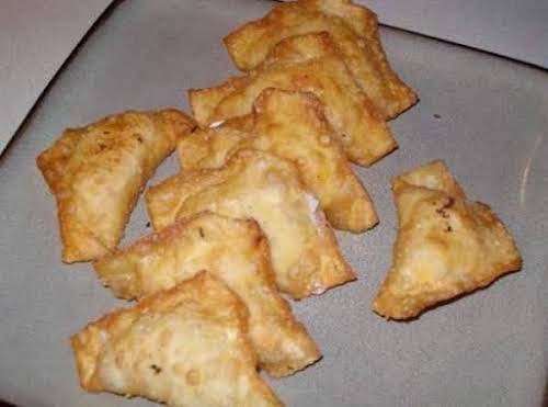 """Crab Rangoons """"I like being able to make things at home rather..."""
