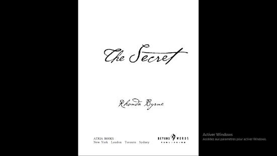 The Secret (Rhonda Byrne) - náhled