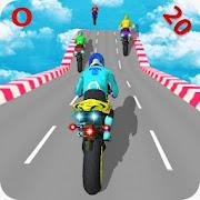 Motorcycle Stunts Game:Sky Runner Bike Stunts