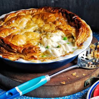 Creamy Fish Pie.