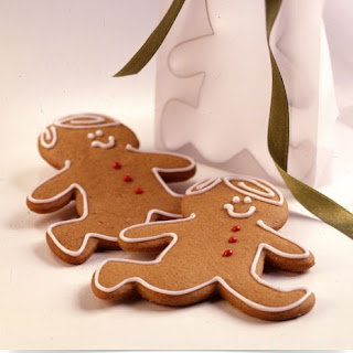 Whole Wheat Gingerbread Cookies