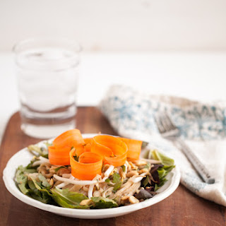 Peanut Noodle and Sprout Salad