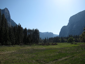 Photo: In the valley at Yosemite, Easter 2014