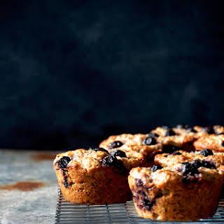 Blueberry Almond Muffins.