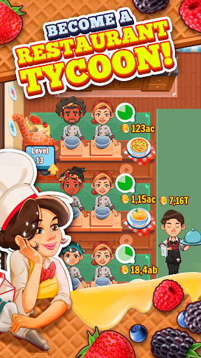 Spoon Tycoon - Idle Cooking Manager Game 2.0.1 screenshots 1