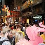 halloween street party in Hong Kong in Hong Kong, , Hong Kong SAR