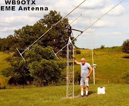 Photo: WB9OTX EME antenna 2X15 300 watts