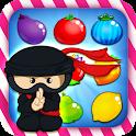 Ninja Match 3 Fruit icon