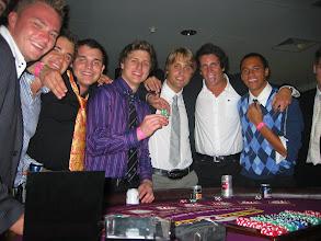 Photo: Bond Uni students enjoy a gaming night to unwind