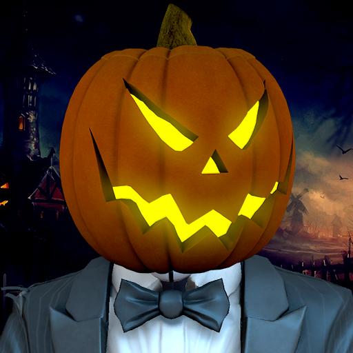 Halloween Superhero: Scary Clown