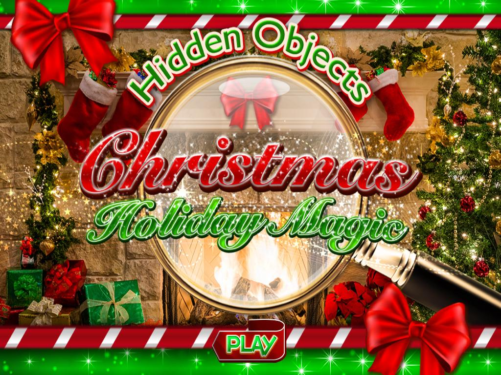 Hidden Object Christmas Holiday Magic Objects Game- screenshot