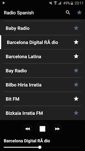 ラジオ スペイン