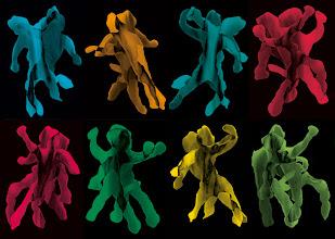 """Photo: © Olivier Perrot 1997-2008  """"vivre à deux""""  mise en couleur Tirage pigmentaire 40x56cm  Ref : Vivre_a_deux_Coul  Photogramme ayant servi dans publication CigaleN°5 commande sous forme de carte blanche Ref : Vivre_a_deux_Coul"""