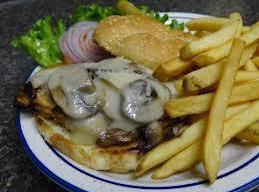 Grilled Chicken Mushroom Melt Recipe