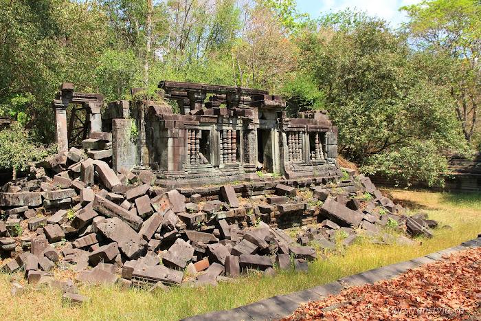Библиотека в храмовом компексе Бенг Мелеа
