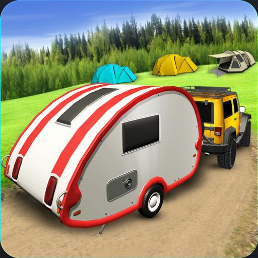 Offroad Campervan Truck Driving Simulator 2017