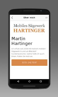 Download Mobiles Sägewerk Hartinger For PC Windows and Mac apk screenshot 2