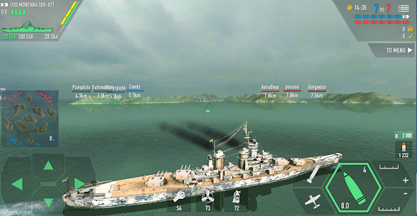 Battle of Warships MOD Apk 1.72.12 (Unlimited Money) 4