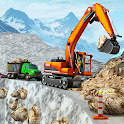 Snow Offroad Construction Game icon