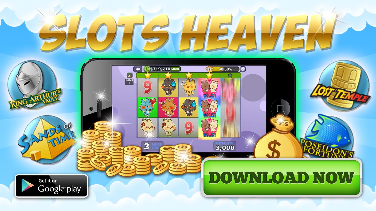 SLOTS Heaven - Win 1,000,000 Coins FREE in Slots!- screenshot