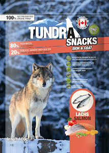 Tundra snacks Lax 100 gr 9 st/display