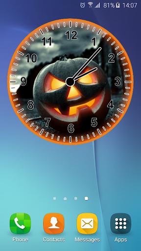 南瓜 模擬時鐘