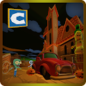 Monster Car Crush Zombies icon