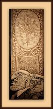 Photo: Antonio Berni El striptease de Ramona 1963. Xilocollage, díptico. Panel derecho. Matriz xilográfica: 137,2 x 54,9 cm. Estampa: 145,6 x 63,8 cm. The Museum of Fine Arts, Houston, EE.UU. Expo: Antonio Berni. Juanito y Ramona (MALBA 2014-2015)