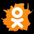 Одноклассники в сети интернет. ОК ru icon