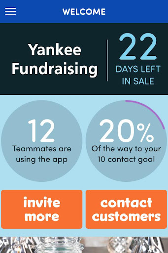Yankee Fundraising Screenshot