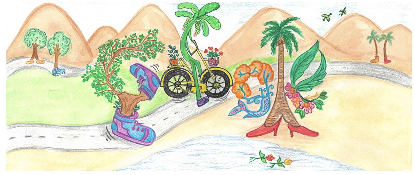 Doodle For Google 2019 India Winner