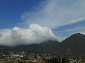 Photo: View of Mitad del Mundo background