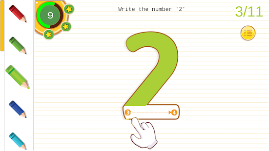 Abcd learning for nursery children free Screenshot