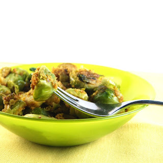 Pan-Roasted Brussels Sprouts.