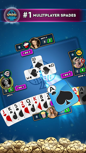 Spades Multiplayer - Online Card Games 5.7 screenshots 2