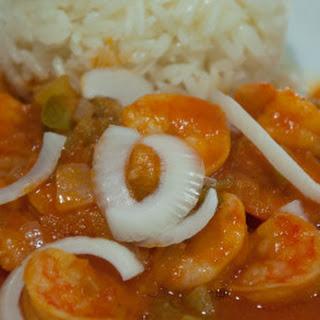 Haitian Shrimp (Kribich nan sòs)