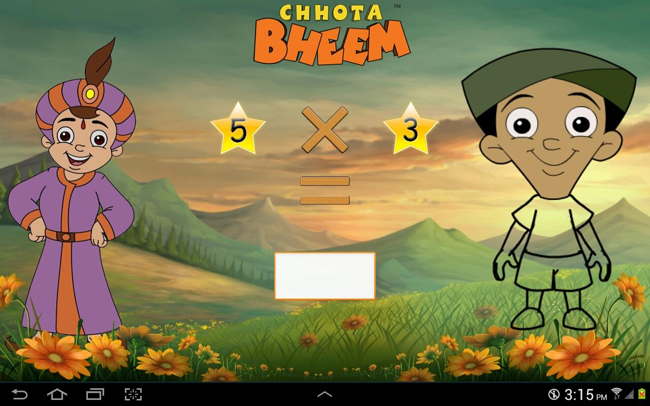 Fun Math with Chhota Bheem- screenshot