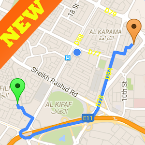 GPS route finder (Fast Distance) 1.3 Icon